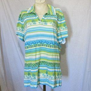 Tommy Bahama golf shirt, top